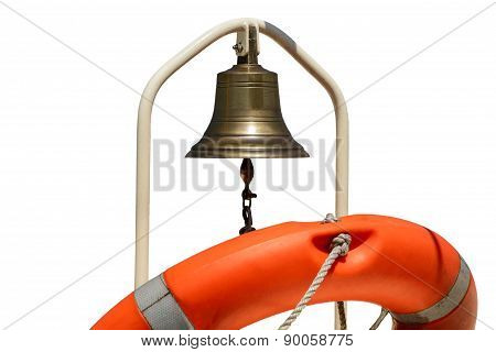 Life Buoy With A Bell