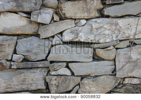 Crude stone wall texture