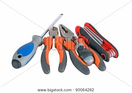 Pliers And Screwdriver Tools