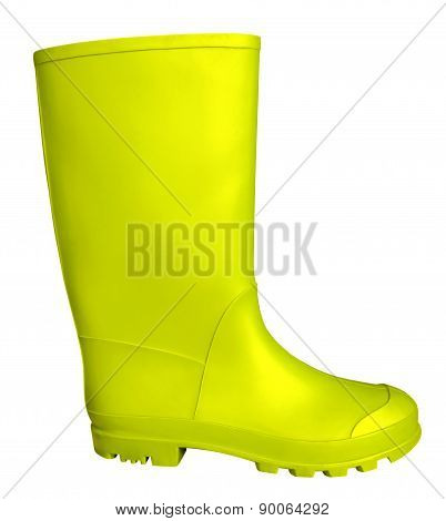 Rubber Boot - Yellow