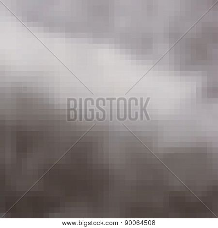 Pixel Hazy Blur Cloud Gray Light Effect Background