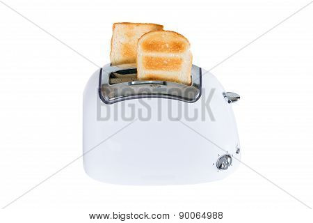 Toaster With Toasted Bread