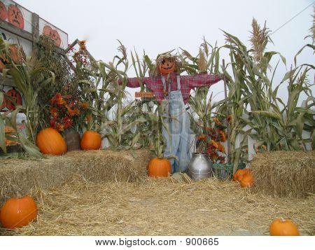 Scarecrow Wagon