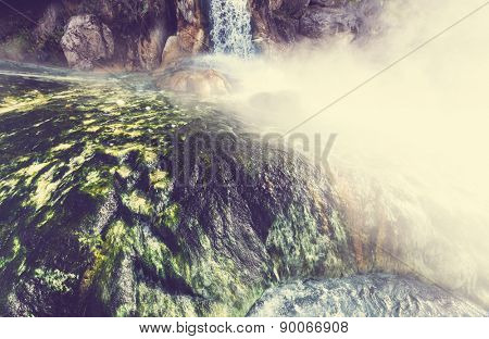 Hot Spring Thermopiles  in Greece