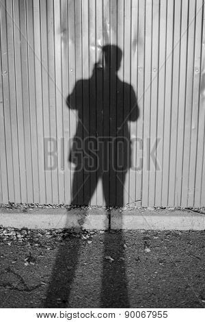 Shadow Of A Photographer