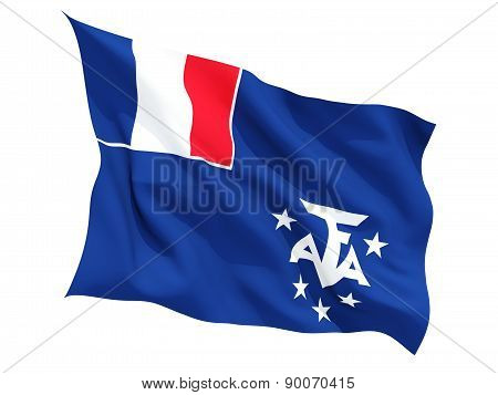 Waving Flag Of French Southern Territories