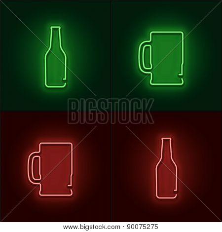 Neon Beer Sign