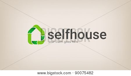 Eco House Logo Company
