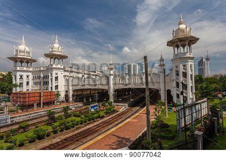 Kuala Lumpur Old Railway Station.