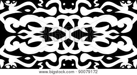 Black And White Wallpaper Pattern