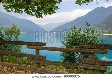 Ledro Lake, Italy