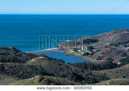Rodeo Beach in Marin County, California