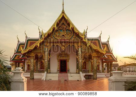Buddhist Temple,wat Phra That Choeng Chum