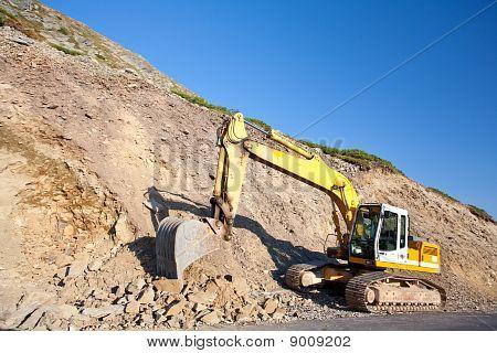 Bulldozer, Excavator
