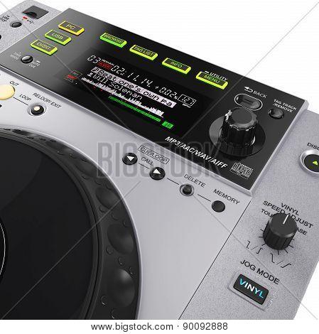 CD player display