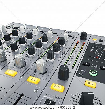 DJ Mixer controls