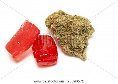 Candy, Marijuana Edibles
