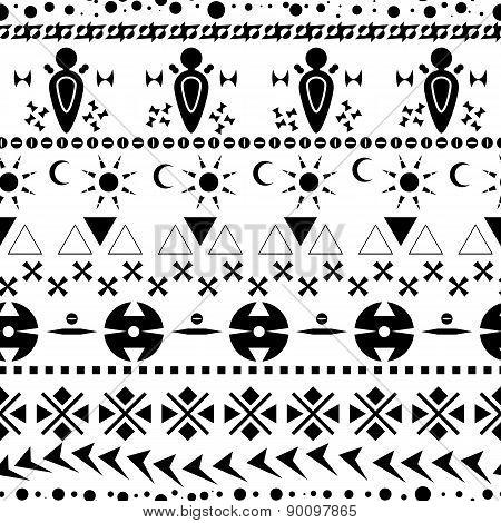 Ethnic Seamless Pattern 01