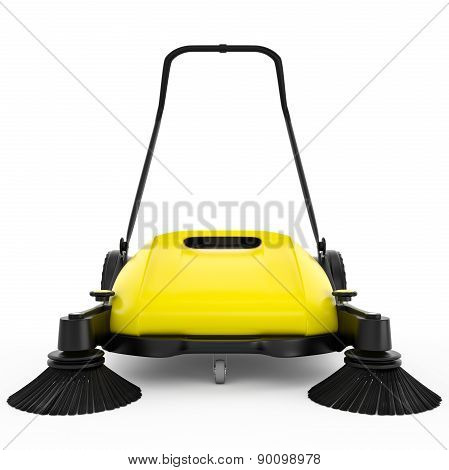 Sweeper with handle