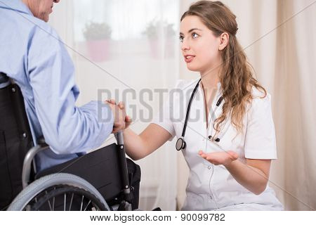 Talking With Patient