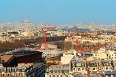 picture of paysage  - View of Paris city from Eiffel Tower - JPG