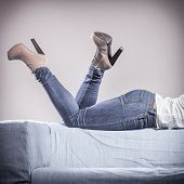 stock photo of platform shoes  - Fashion - JPG