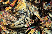foto of psychodelic  - Crystals of Diclofenac under the microscope - JPG