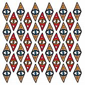 stock photo of aborigines  - Indigenous ceremonial pattern  - JPG