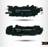 Splash banners. Watercolor background. Grunge background. poster