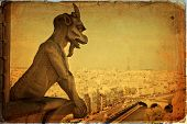 pic of demons  - Notre Dame of Paris - JPG