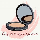 picture of face-powder  - face powder - JPG