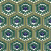 stock photo of kaleidoscope  - Kaleidoscopic mosaic pattern seamless generated texture or background - JPG