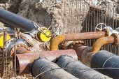 pic of pipeline  - Replacement of underground water pipeline  - JPG