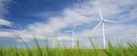 picture of production  - Windmills for electric power production - JPG