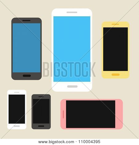 Modern phones collection