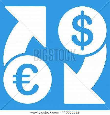 Euro Dollar Euro Exchange Icon