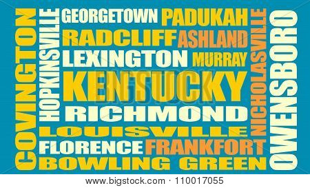 Kentucky State Cities List