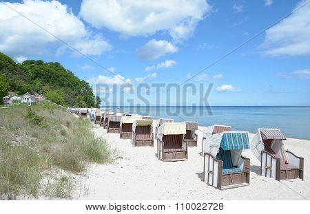 Sellin,Ruegen Island,Germany