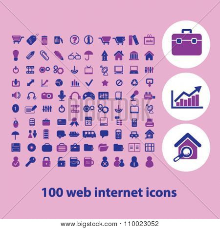 website, office work web  icons, signs vector concept set for infographics, mobile, website, application