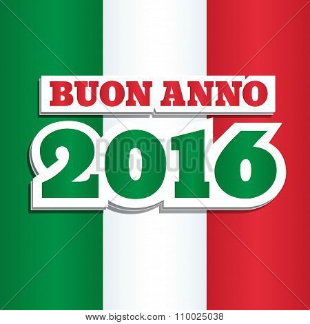 Italian Flag 2016