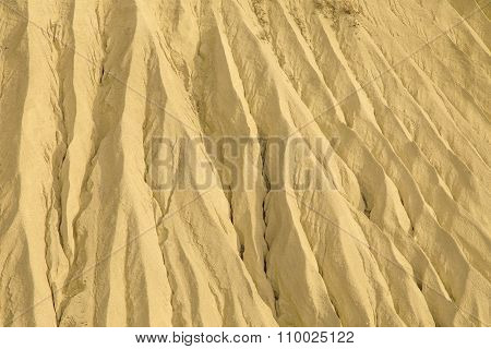Sand hill closeup