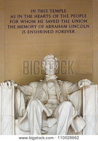 President Lincoln Statue