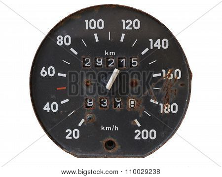Old Tachometer