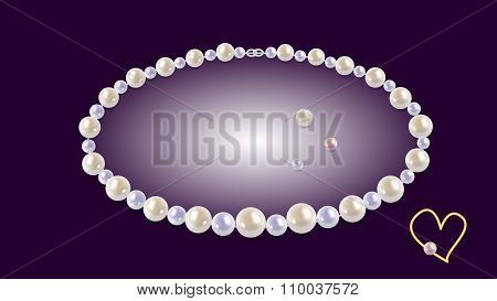 A Necklace Of Pearls