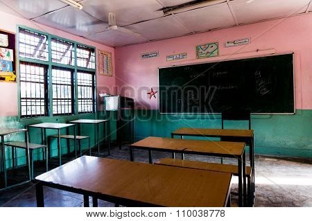 Classroom in an indian school