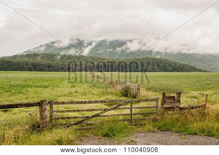 New Zealand countryside, South Island