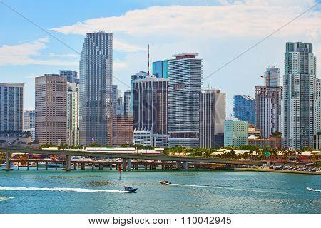 Miami Florida downtown buildings