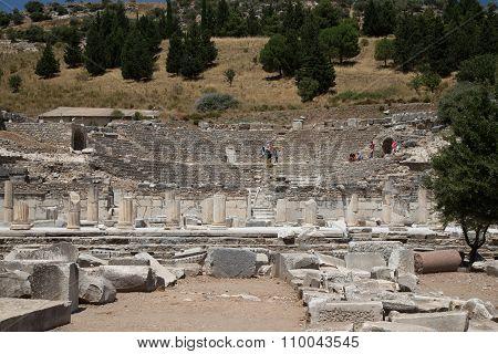 Theater Of Ephesus Ancient City