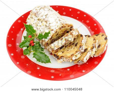 Christmas Stollen Fruit cake