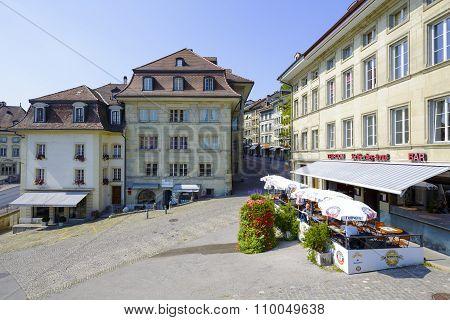 Urban Scene Of Architecture, Fribourg